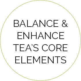 Balance And Enhance Tea Core Elements